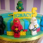 Tort Lego Ninja Ninjago, na urodzinki