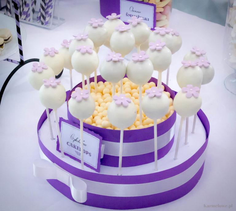Tort z cakepops