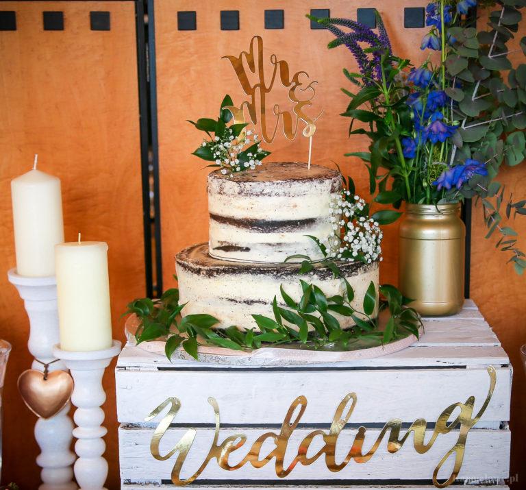 Tort nagi - naked cake