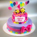 Tort na roczek, pszczółki
