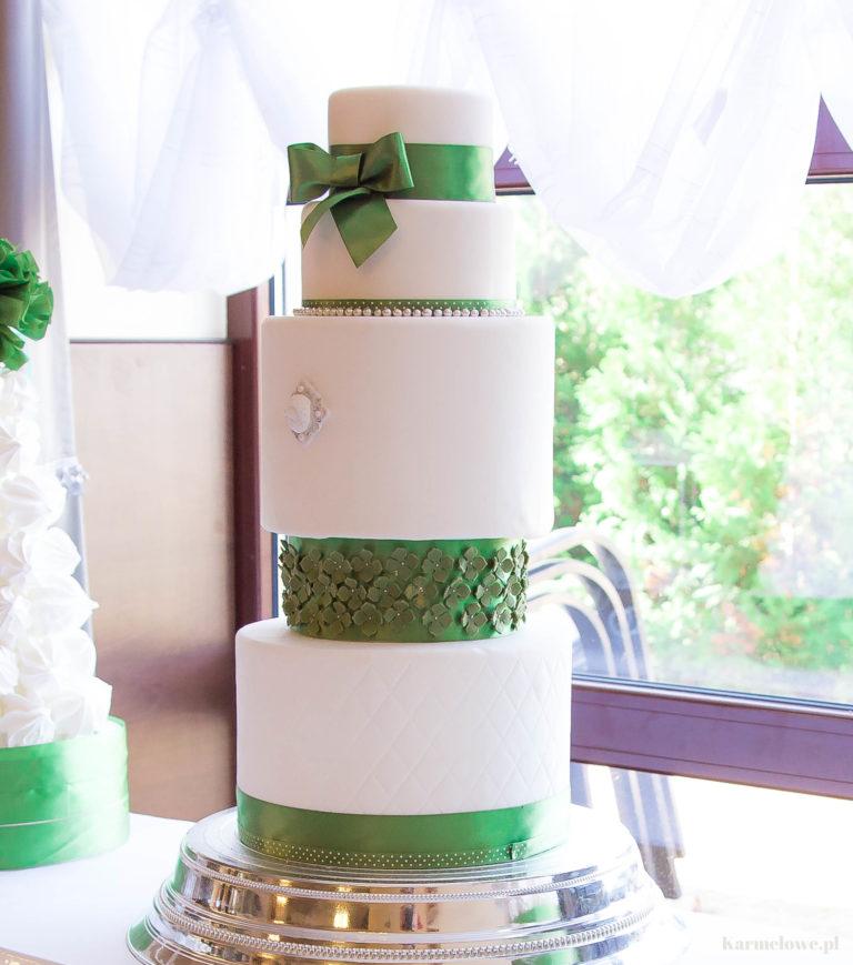 Tort weselny - na ślub