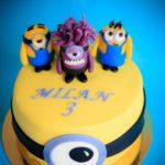 Tort urodzinowy Minionki