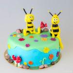 Tort Pszczółka Maja i Gucio