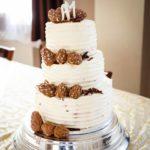 Nagi Tort piętrowy, weselny