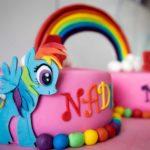 Torcik Little Pony Tęcza