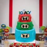 Tort Ninjago urodziny dziecka