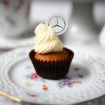 Mini cupcake - wydrukowane logo firmy