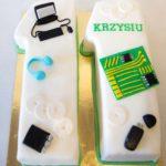 Tort-cyfry na urodziny